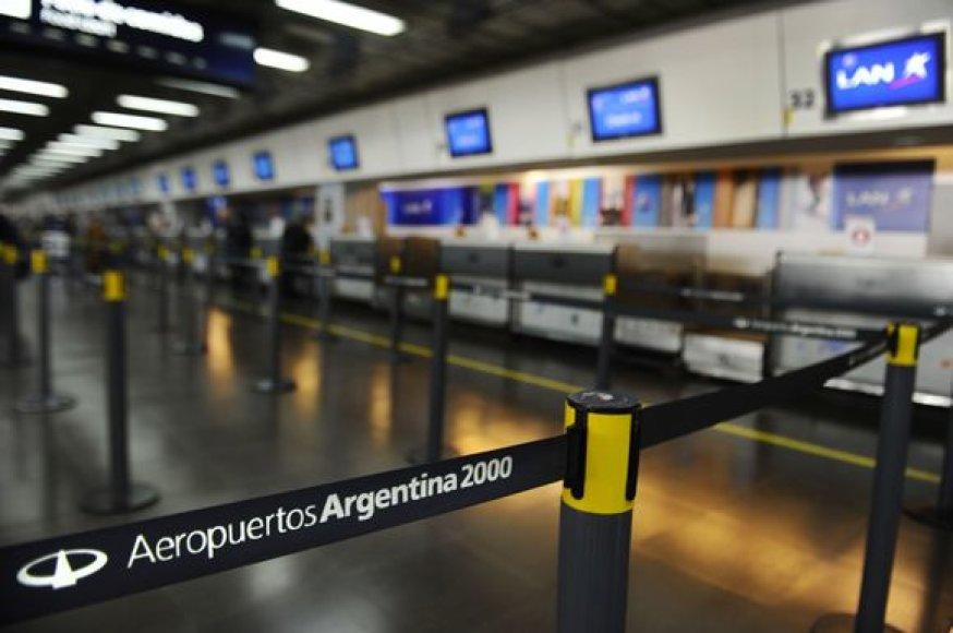 Apmiręs oro uostas Argentinoje