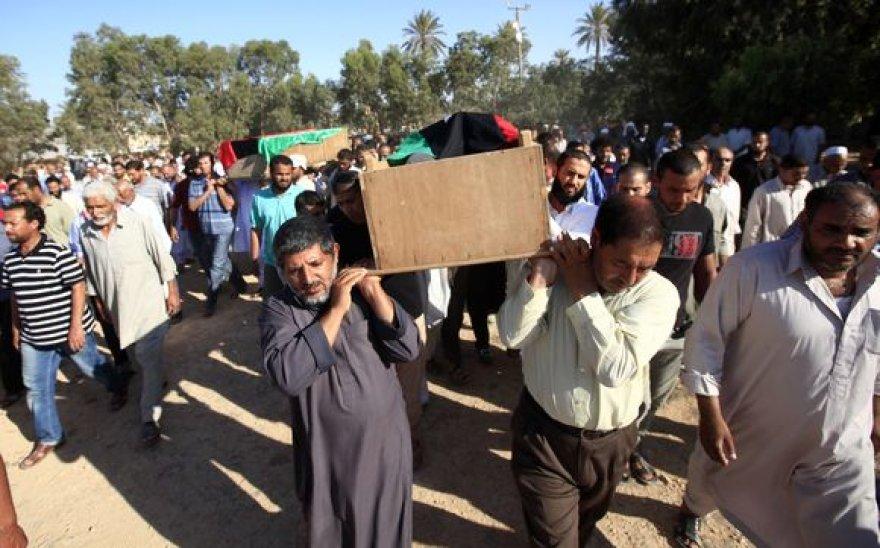 Žuvusieji Libijoje