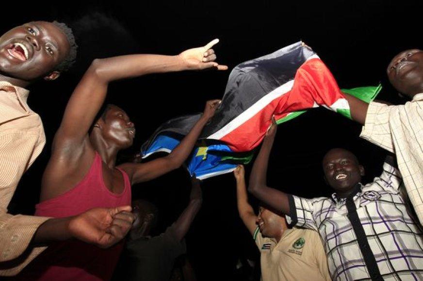 Šventė Pietų Sudane