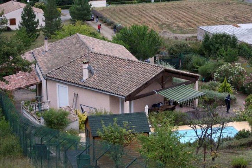 Namas, kuriame dabar gyvena Jensas Breivikas