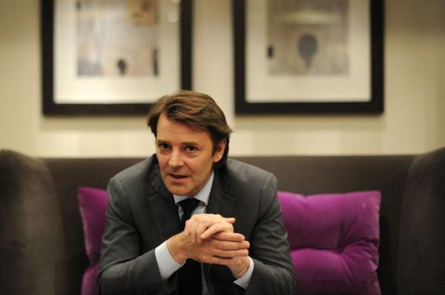Prancūzijos ekonomikos ministras Francois Baroinas