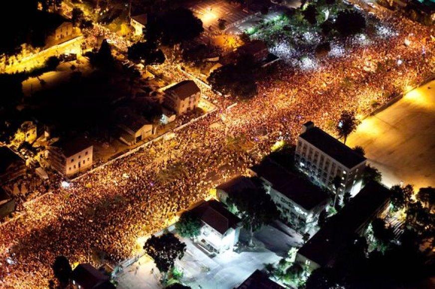 Protestai Izraelyje