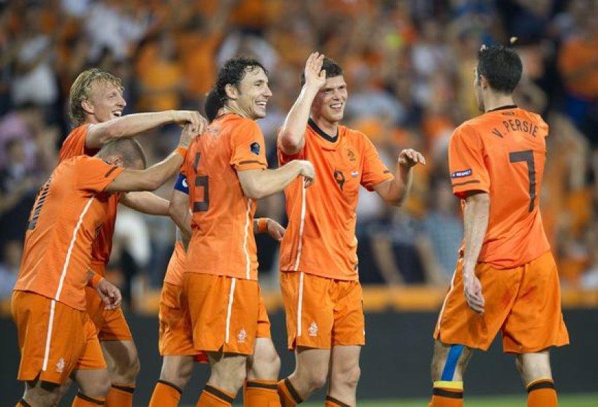 Olandų triumfas