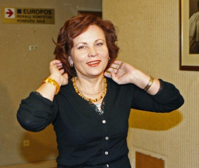 R.Juknevičienė sako, kad labiausiai per šventes jai patinka gaminti tradicinius patiekalus.