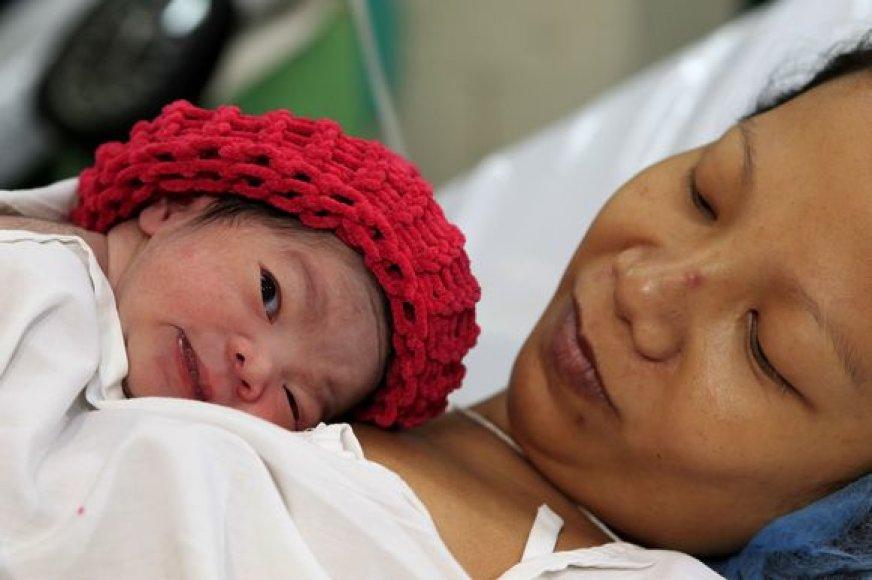 Filipinai buvo pirmoji valstybė, paskelbusi, kad gimė septyniamilijardasis kūdikis – mergytė Danica May Camacho