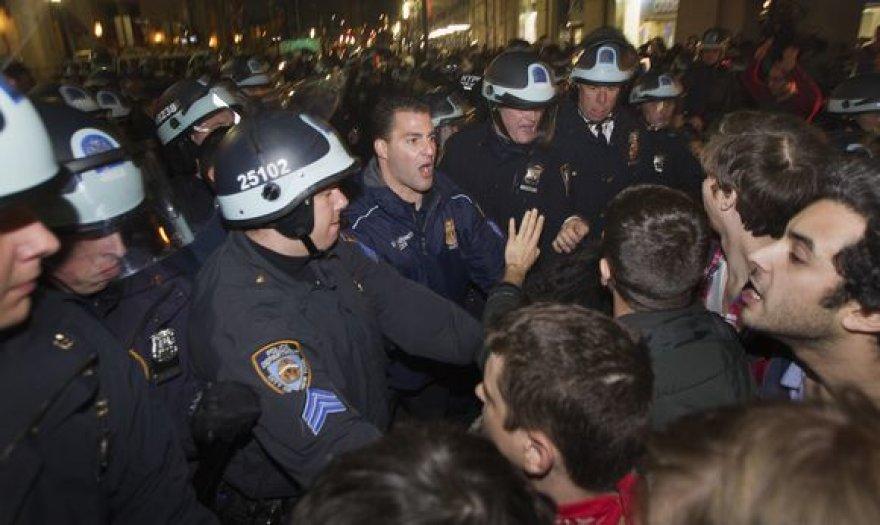 Policijos reidas Niujorke