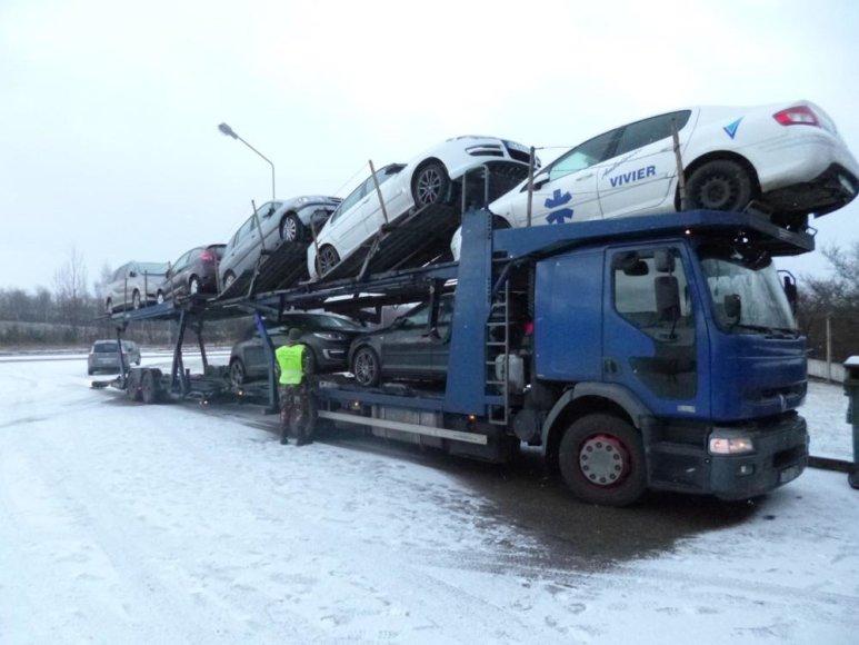 """VSAT nuotr./Vogtas automobilis """"Renault Megane"""""""