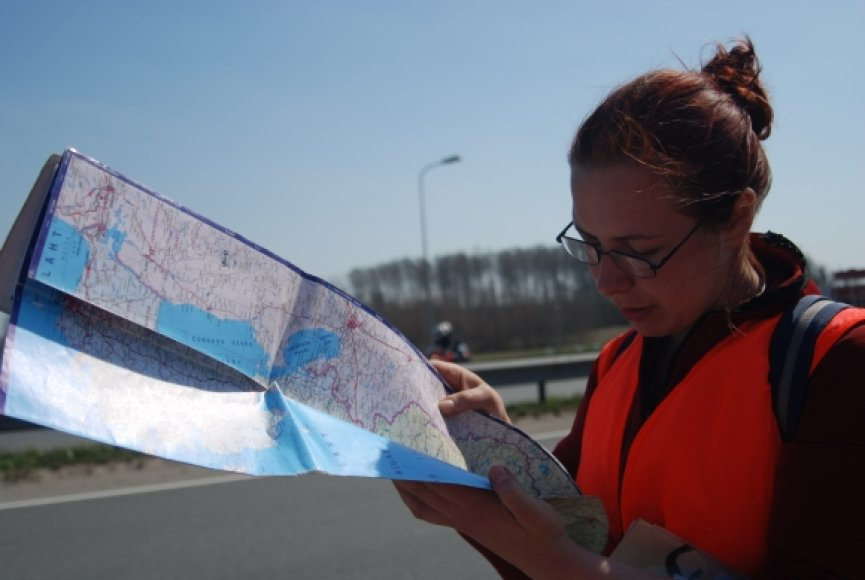 """Autostopo varžybos """"Baltija"""" 2009-04-25/26"""
