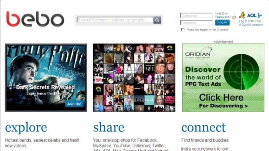 Socialinis tinklalapis, kuriame mergaitė demonstravo savo seksualias nuotraukas.