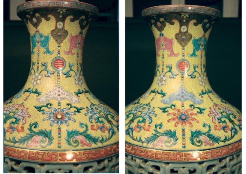 XVIII a. kiniška vaza