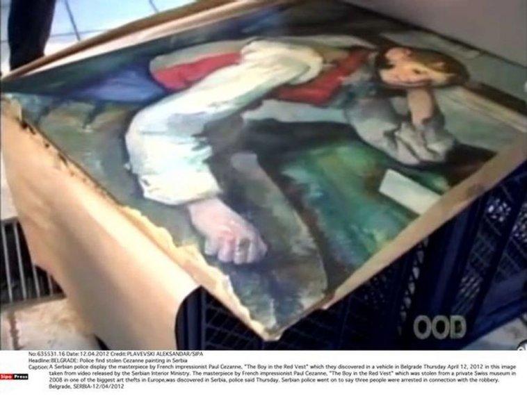 Paulo Cezanne paveikslas