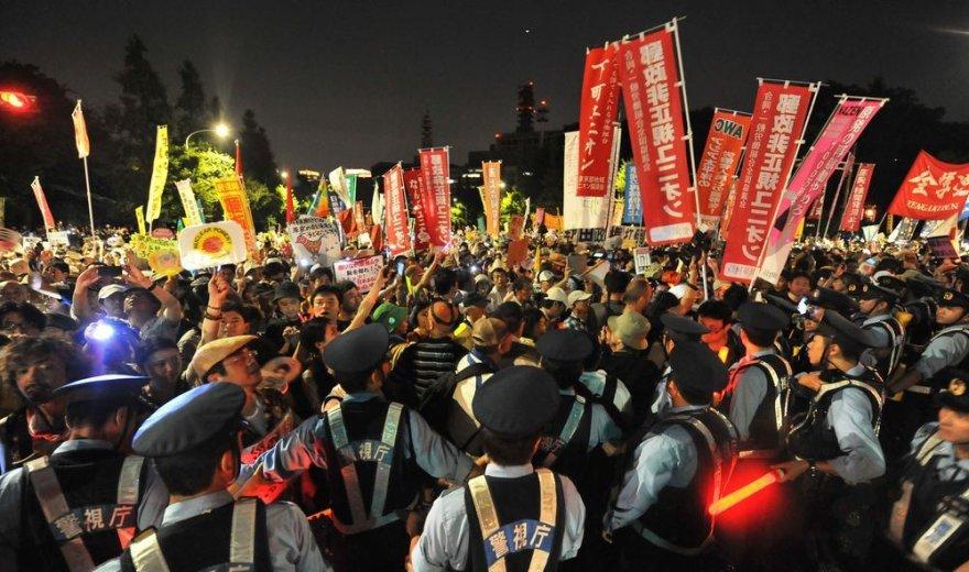 Protestas Japonijoje