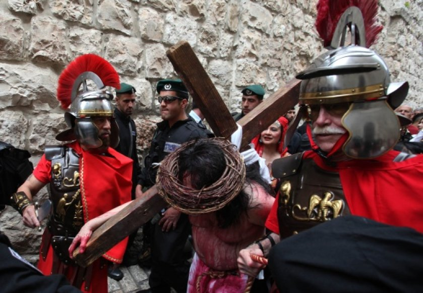Jeruzalėje – tūkstančiai maldininkų.