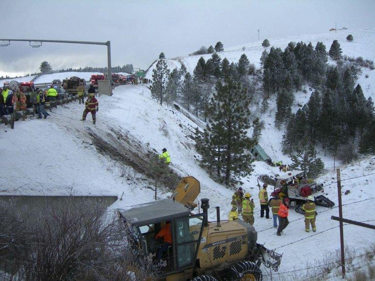 Autobuso avarija JAV