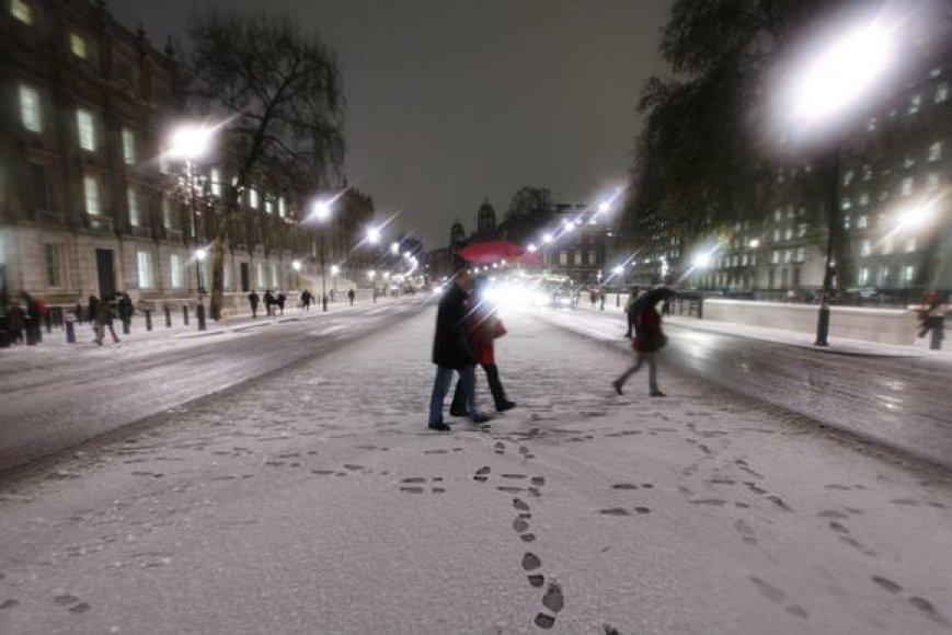 Sniegas Londone