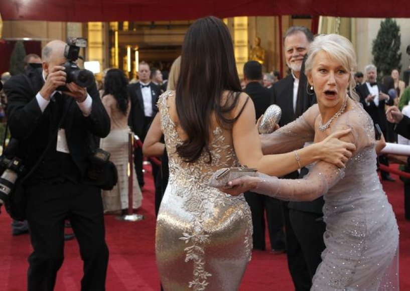 Sabdra Bullock su Helen Mirren