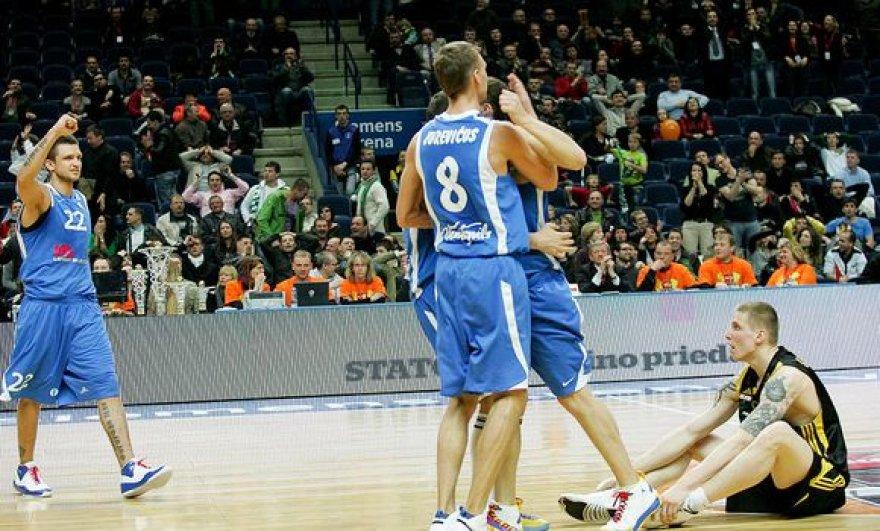 """""""Ventspils"""" iškovojo trečią pergalę Latvijos krepšinio pirmenybėse"""