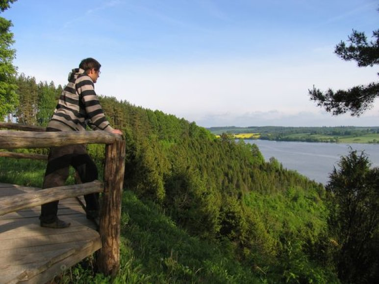 Būsimos ekspozicijos Kauno marių regioniniame parke tema – Nemuno virsmas Kauno mariomis.