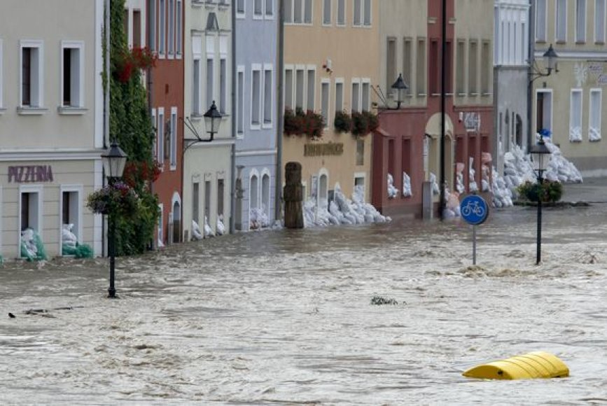 Potvyniai Vokietijoje