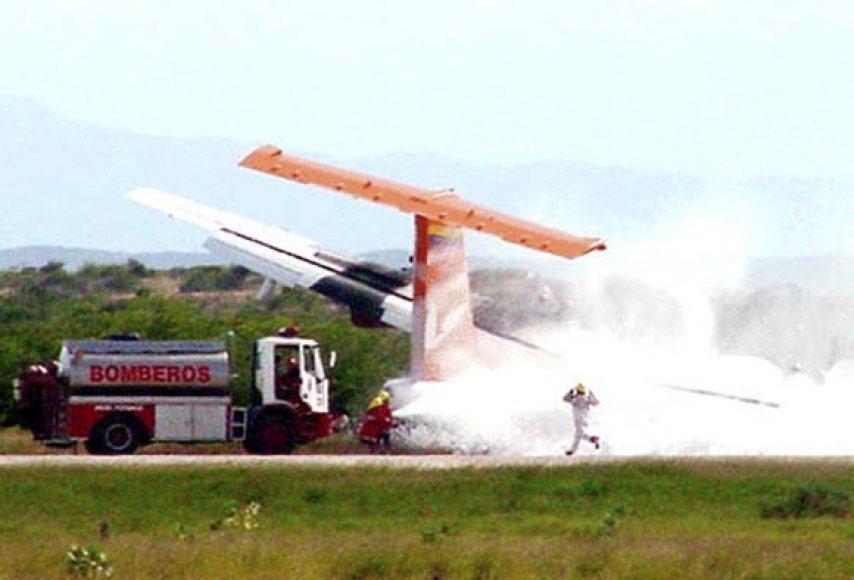 Sudužęs lėktuvas Venesueloje