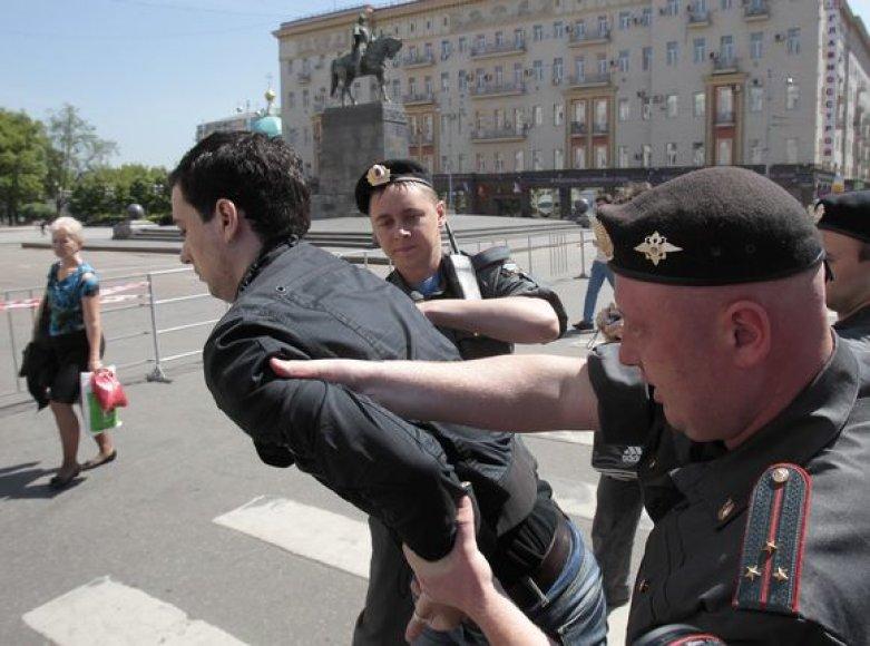 Homoseksualai Maskvoje
