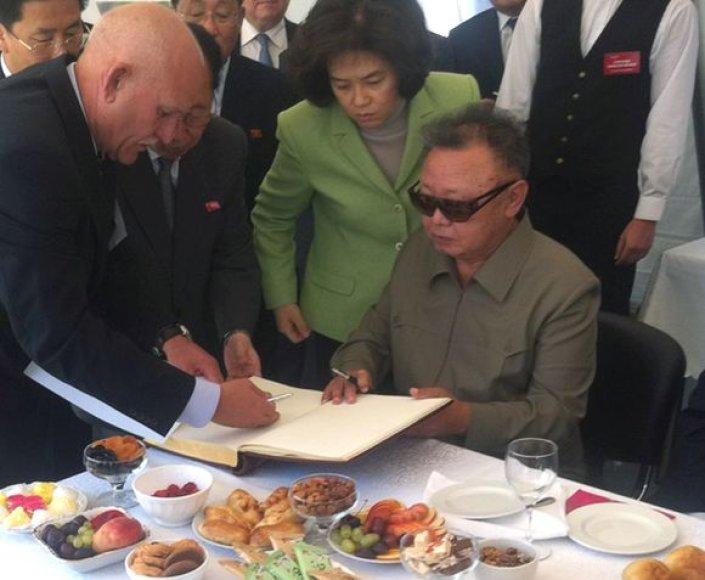 Kim Jong Ilas Rusijoje