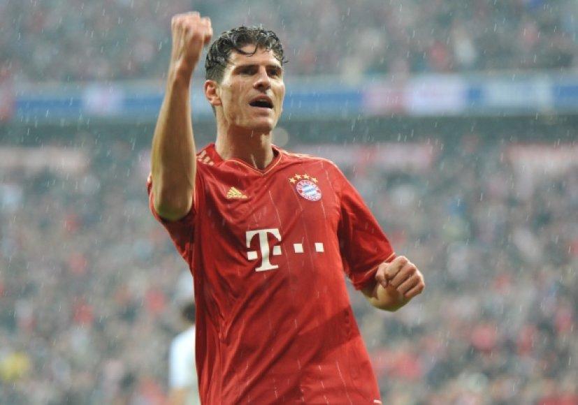 Mario Gomezas šį sezoną įmušė jau 35 įvarčius (22 iš jų Vokietijos čempionate).