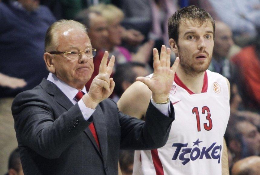 Martynas Gecevičius pelnė pirmuosius taškus ketvirtfinalio serijoje.