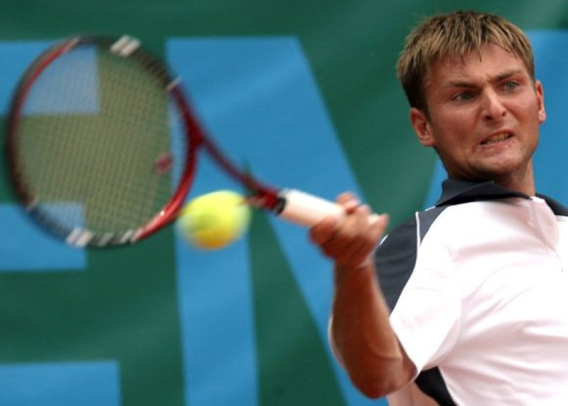 Pajėgiausiu Lietuvos vyrų tenisininku išliko G.Sabeckis (ATP 545)