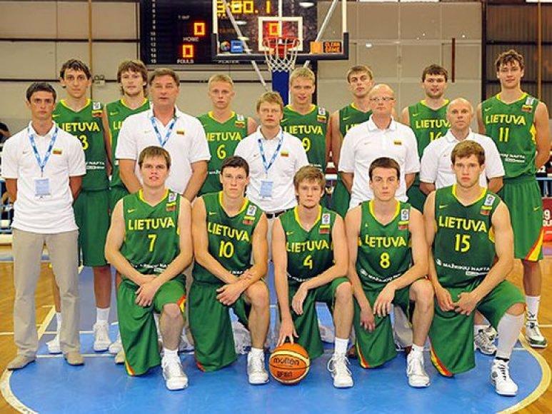 Po trijų pergalių iš eilės - 73:71 įveikta Juodkalnija, 118:68 sutriuškintas Izraelis ir 65:59 palaužta Turkija - Lietuvos vaikinų (iki 20 metų) rinktinė Europos čempionate patyrė pirmąją nesėkmę.