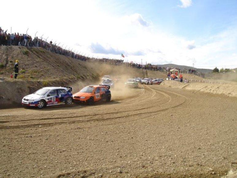 Kitas, 8-sis iš 10, Europos automobilių kroso čempionato etapas rugsėjo 5-6 dienomis vyks Čekijoje