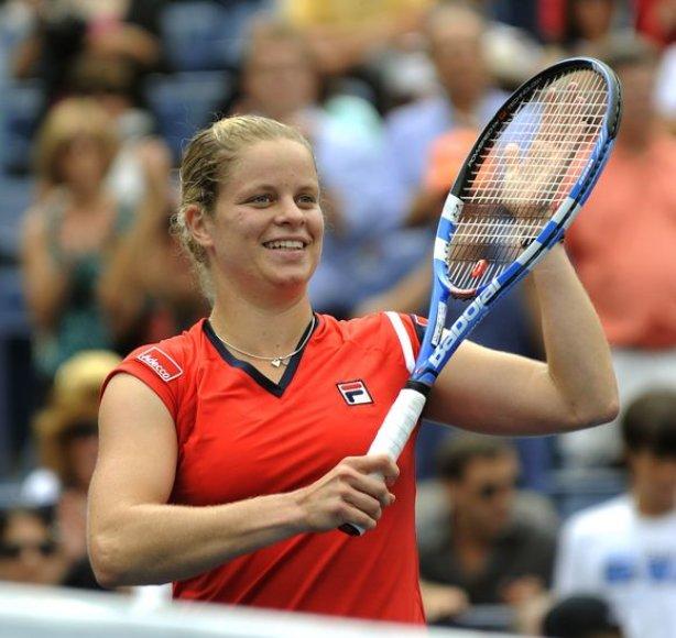 """""""Didžiojo kirčio"""" turnyruose K.Clijsters dėl motinystės atostogų nežaidė nuo 2007 metų atvirųjų Australijos teniso pirmenybių"""