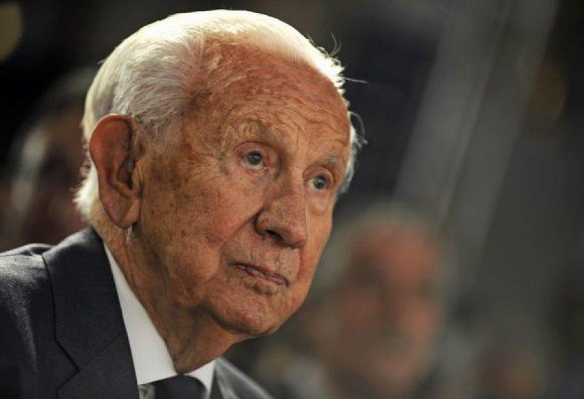 Buvęs TOK prezidentas J.A.Samaranchas neoficialiai remia Madrido siekį surengti 2016 m. olimpines žaidynes