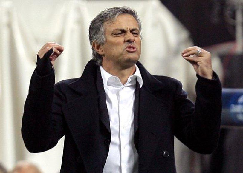 Portugalas Jose Mourinho