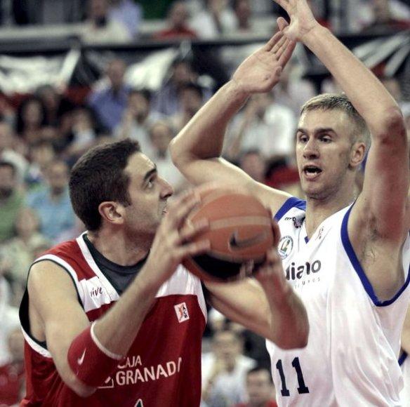 M.Andriuškevius (dešinėje) sužibėjo ACB lygoje