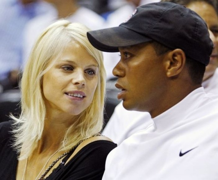 Elin Nordegren ir T.Woodsas susituokė 2004 metais