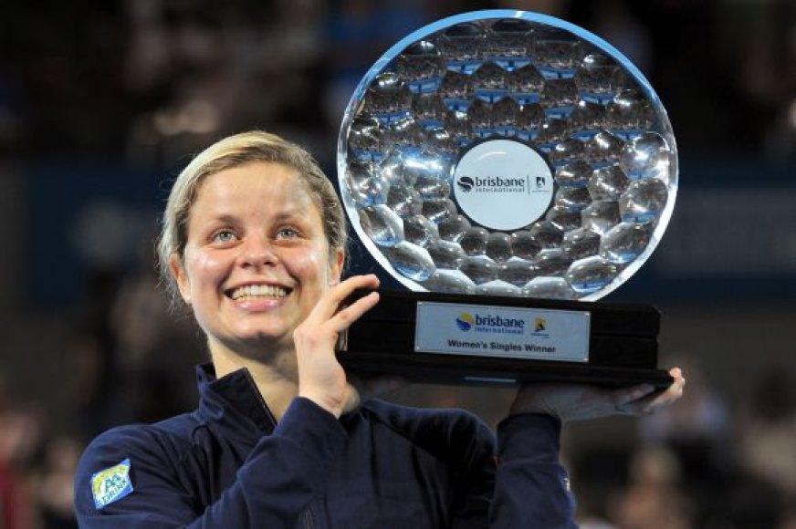 K.Clijsters šis titulas buvo 36-asis jos karjeroje