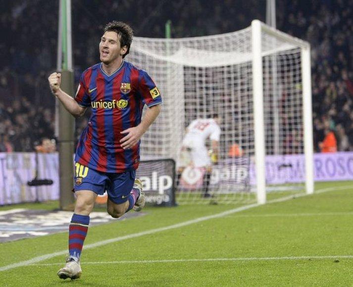 L.Messi pelnė du įvarčius