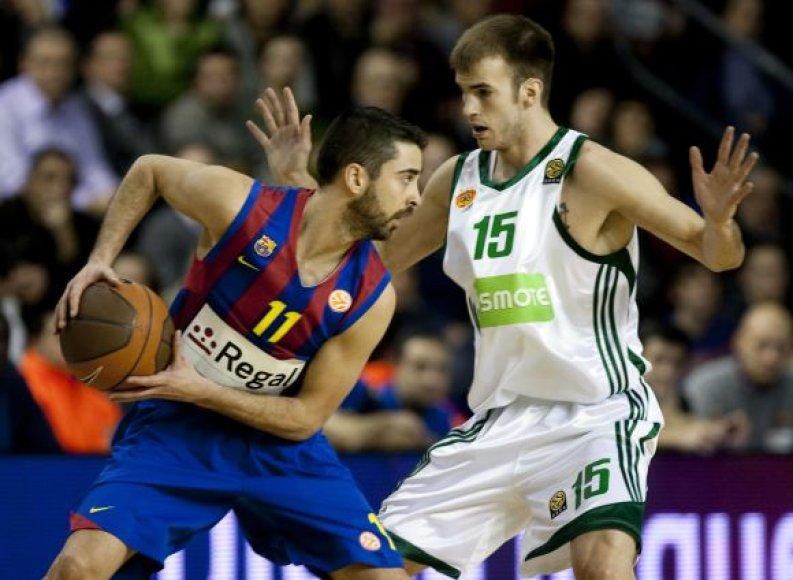 Ispanijos čempionai privertė pasiduoti stipriausią Graikijos komandą