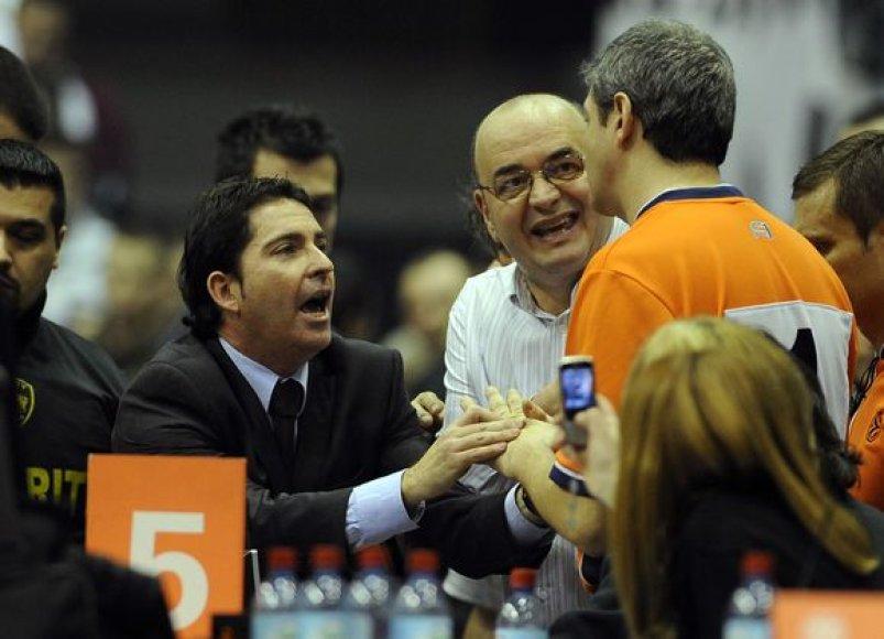 """""""Barcelona"""" ir """"Partizan"""" rungtynių rezultatas kėlė daugybę diskusijų"""