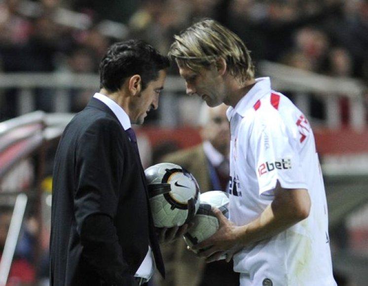 """M.Stankevičius įgauna vis didesnį """"Sevilla"""" trenerio Manolo Jimenezo pasitikėjimą"""