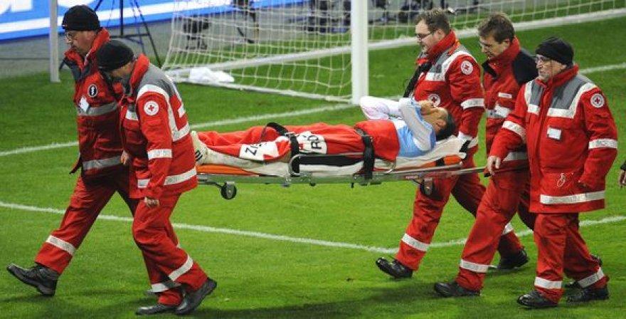 M.Demichelis futbolą turės pamiršti mažiausiai trims savaitėms