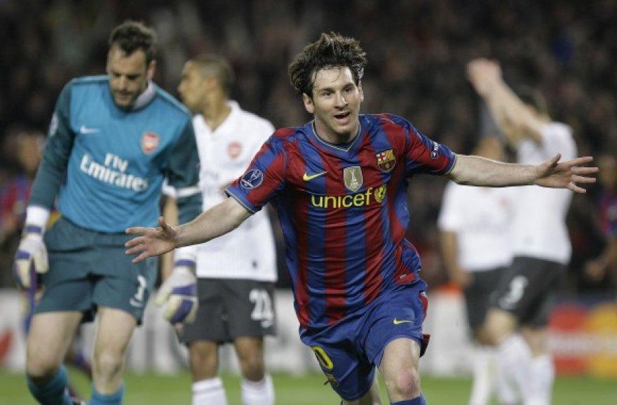 Taiklūs L.Messi smūgiai palaidojo varžovus