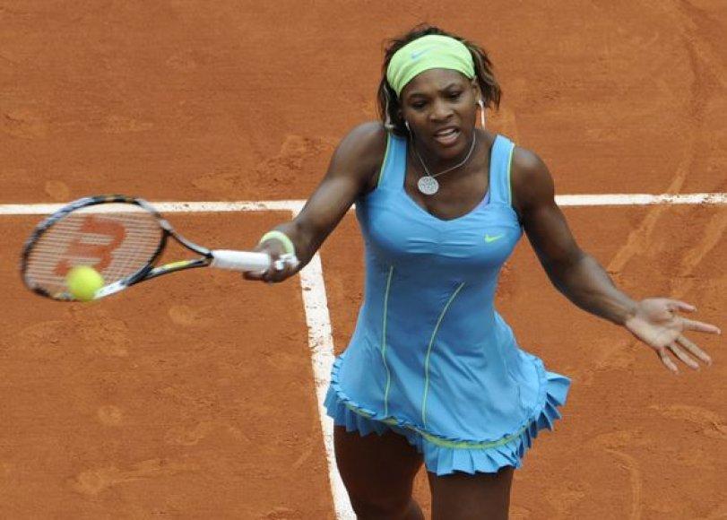 S.Williams atvirosiose Prancūzijos teniso pirmenybėse triumfavo 2002 metais