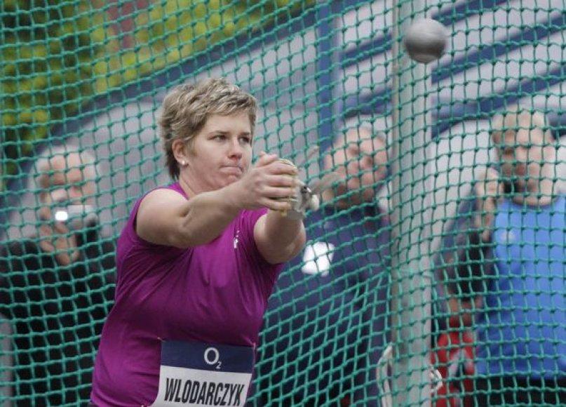 Naujas A.Wlodarczyk pasiektas pasulio rekordas – 78,30 m