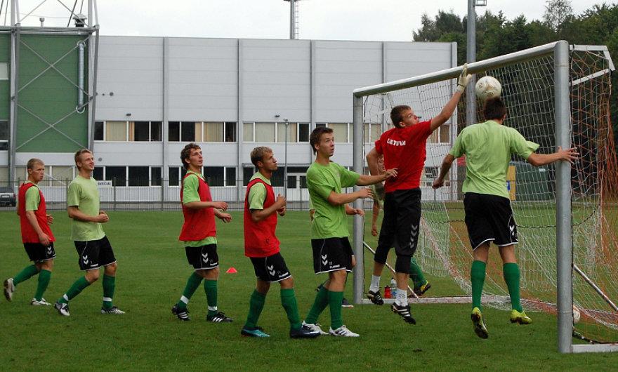 Lietuvos 21-mečiai rungtynėmis su Portugalija baigs atrankos į Europos čempionatą ciklą