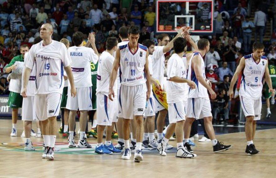 Be medalių pasaulio čempionate likę serbai tikriausiai turėjo žaisti finale