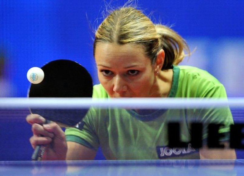 R.Paškauskienė ir Lietuvos stalo teniso rinktinė pradėjo kovas planetos pirmenybėse.