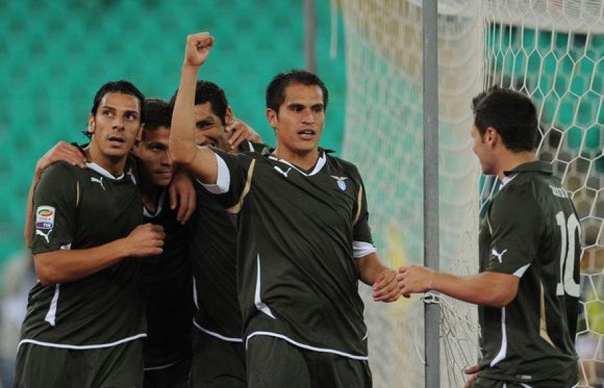 """""""Lazio"""" tęsia sėkmingą startą Italijos čempionate"""