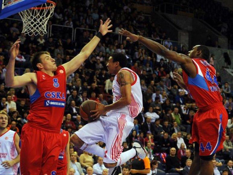 CSKA (raudona apranga) Eurolygos sezoną pradėjo nesėkme